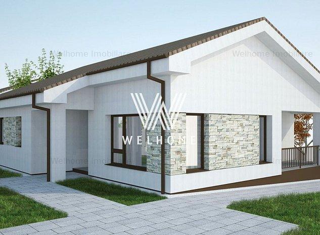 Casa individuala pe un singur nivel, teren 700 mp, in Sura Mare, Sibiu - imaginea 1