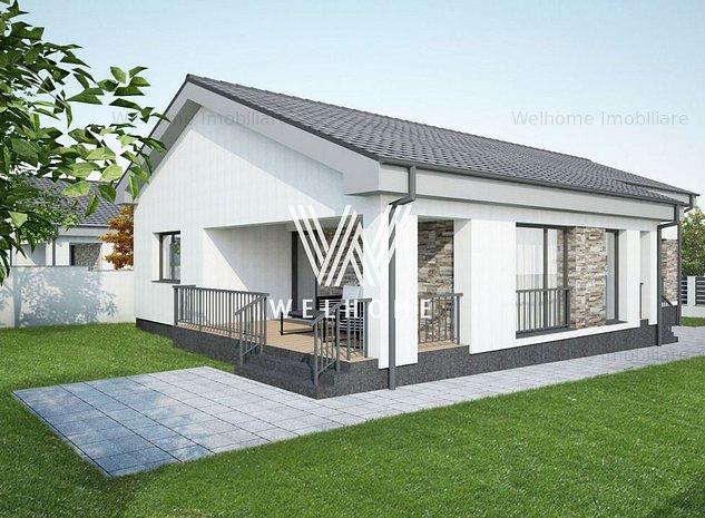 Casa individuala, 700 mp teren in Sura Mare, Sibiu - imaginea 1