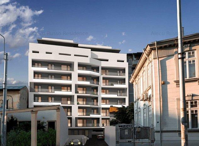 Apartament 3 camere, imobil nou locuit, vedere teatrul Metropolis, terasa 13mp - imaginea 1