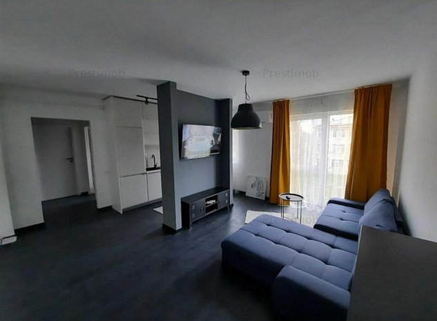 De inchiriat apartament cu doua camere,zona centrala,complex rezidential - imaginea 1