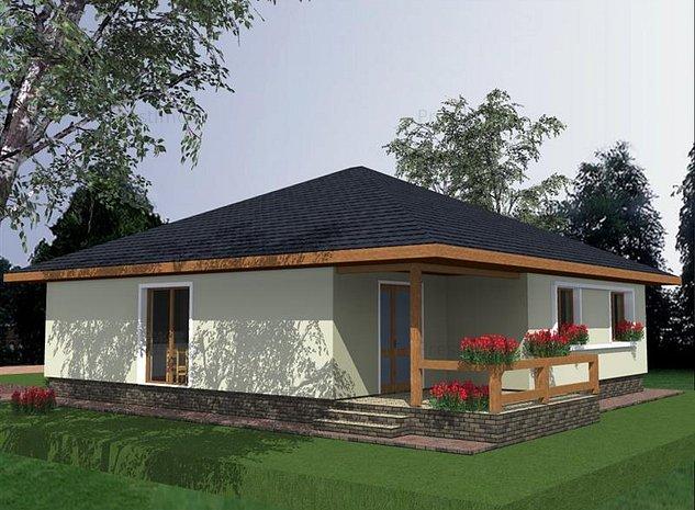 Vand casa proiect nou Nazna - imaginea 1
