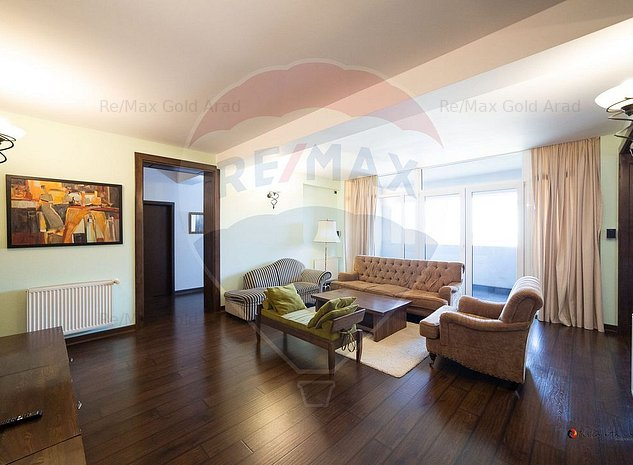Apartament 3 camere centru Bermo Kaufland complet mobilat - imaginea 1