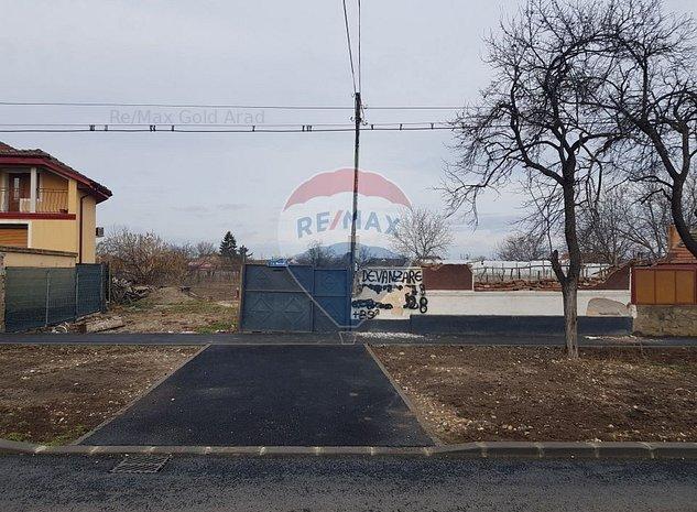 Teren Aradul Nou comision 0% strada Muncii 939mp toate utilitatile - imaginea 1