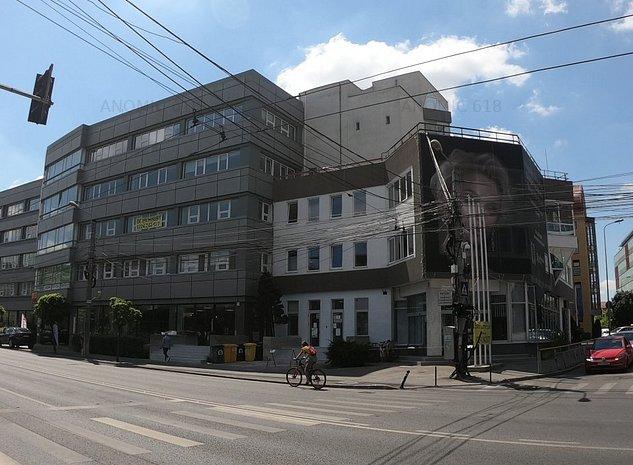 Proprietar. Cladire nerezidentiala in centru, zona istorica. PUZ P+7. Parcare. - imaginea 1