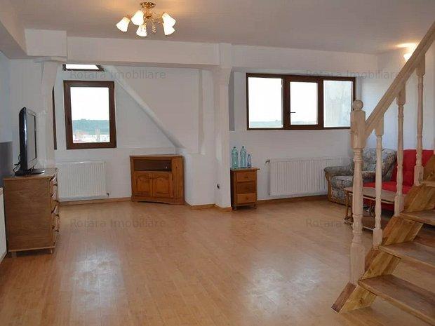 Spatiu birou - Apartament 4 camere, Pacurari, spatios, priveliste - imaginea 1