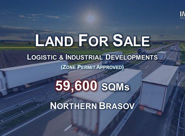 Teren Investitii - 6 HA - Brasov Nord (P.U.Z. Aprobat) - imaginea 1