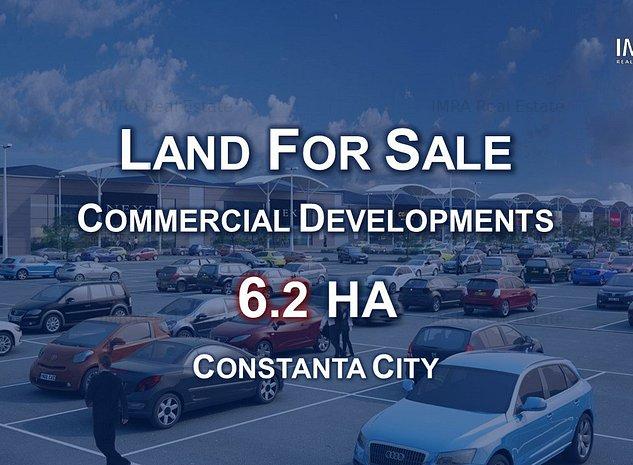 Teren Dezvoltari Comerciale - 6.2 HA - Constanta - imaginea 1
