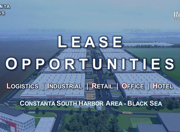 Spatii de Depozitare & Productie - Clasa A - Constanta Sud Port - imaginea 1