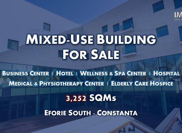 Mixed-Use Building for Sale - Eforie Sud (Black Sea Area) - imaginea 1