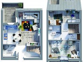 Apartament de vânzare sau de închiriat 3 camere, în Braşov, zona Tractorul