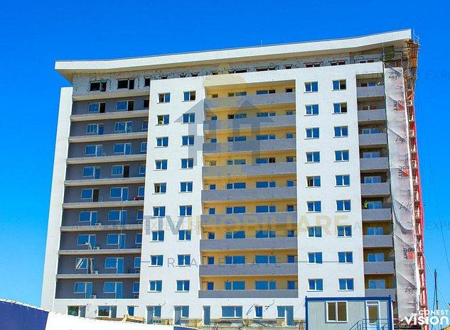 Apartament 2 camera, Galata, bloc nou, 57.5 mp, 72.000 Euro - imaginea 1