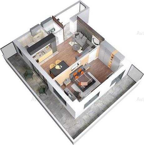 COMISION0% Apartament 2 Camere Copou - imaginea 1