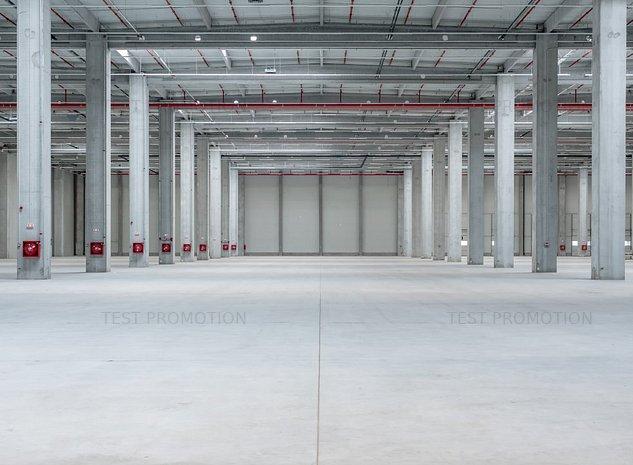 Spatiu depozitare logistica hala industriala arhiva farmaceutic anvelope aut PSI - imaginea 1