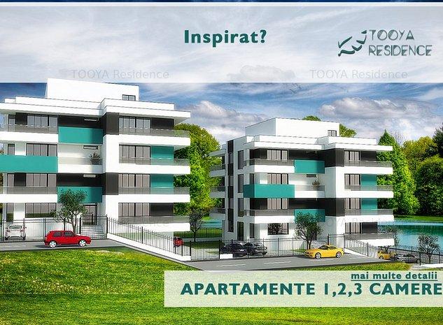 Apartament 2 camere cu vedere directa LAC - imaginea 1