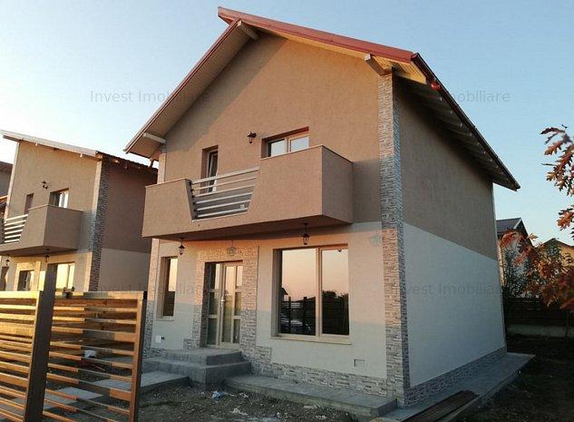 Vila cu 4 camere, incalzire prin pardoseala, Popas Pacurari - imaginea 1