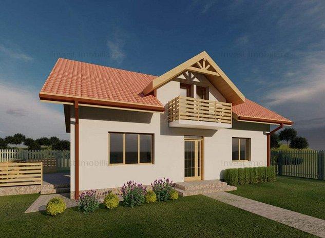 Casa 5 camere 430mp curte Uricani-Miroslava - imaginea 1