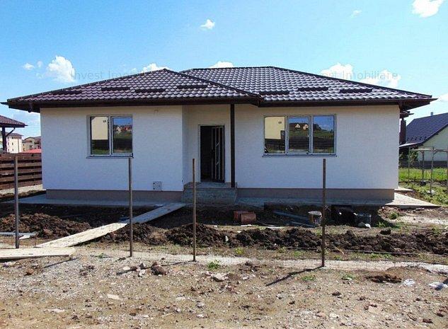 Casa 4 camere 400mp teren Horpaz cu canalizare - imaginea 1