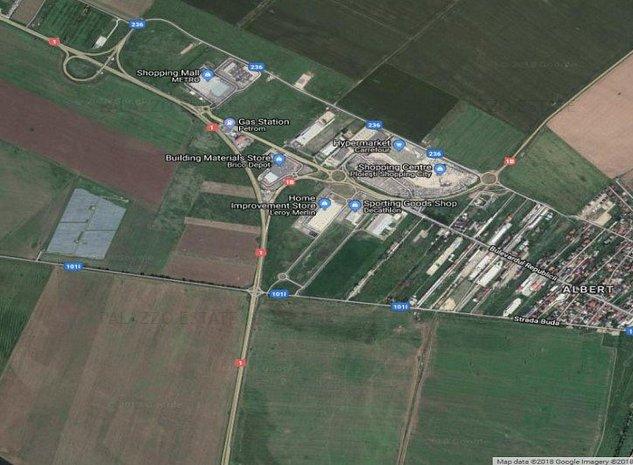 Teren de vanzare langa Ploiesti 10 ha acces DN1 - imaginea 1