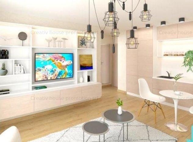 Apartament doua camere tip premium sistem Smart Home- apropiere metrou Dristor - imaginea 1