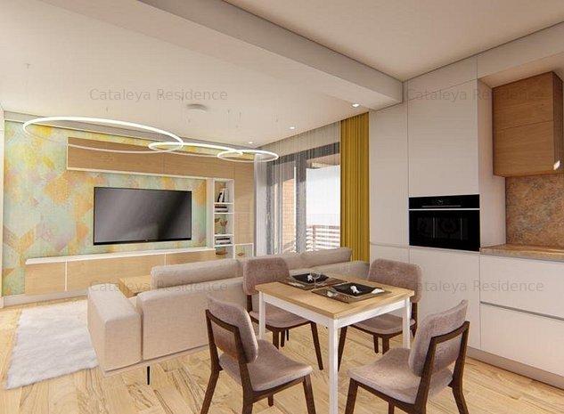 De vanzare, Apartament 1 camerA,  36.30 mp, Bucium - imaginea 1