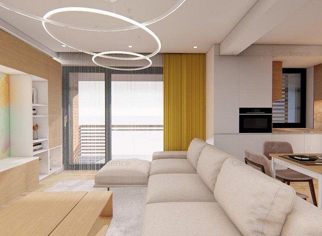 De vanzare, Apartament 2 camere, 81.20 mp, Bucium - imaginea 1
