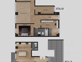 Penthouse de vânzare 4 camere, în Timişoara, zona Soarelui