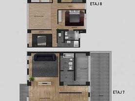 Penthouse de vânzare 7 camere, în Timişoara, zona Soarelui