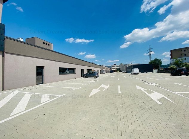 Hala/ spatiu/ showroom/ birouri, renovare, 144mp, zona Carrefour Felicia - imaginea 1