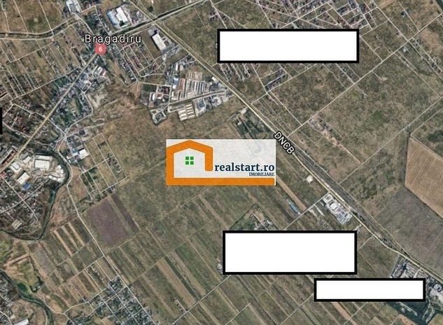 Centura Bucuresti-Magurele, 1400mp hala-birouri, 5500mp teren, acces tir - imaginea 1