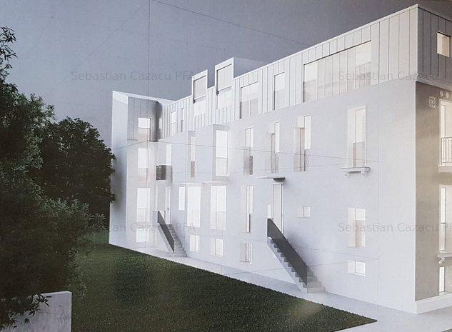 Vand Proiect imobiliar 840mp in VILA cu 14 ap. CISMIGIU ulracentral - imaginea 1