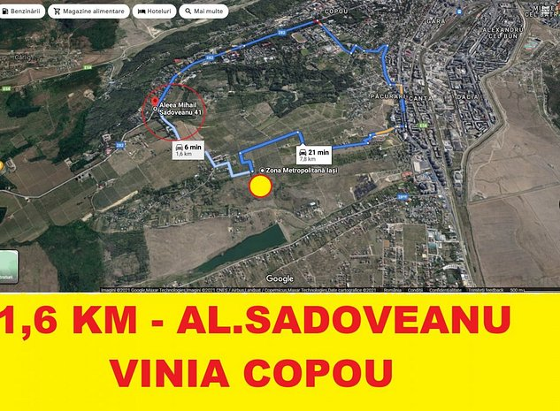 COPOU-Viticultori , 1,6 KM de la Al.Sadoveanu ,perfect ca investitie !!! - imaginea 1