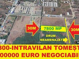 Teren constructii de vânzare, în Iaşi, zona Tomeşti