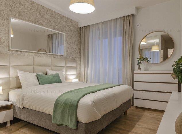 Apartament cu 2 camere cu o terasa superba Lebada Lake Residence - imaginea 1