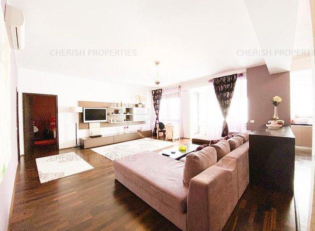 Herastrau | Huge 1 bedroom flat | Furnished | Parking | For rent - imaginea 1