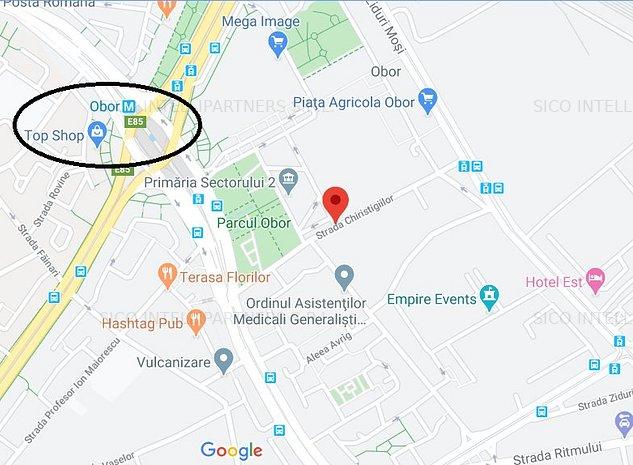 Teren Obor pretabil pentru Ansamblu Rezidential 255000 Euro - imaginea 1