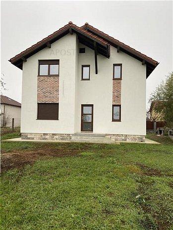 Casa individuala in Giroc cu arhitectura deosebita, toate utilitatile, terasa! - imaginea 1