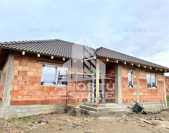 Casa individuala cu 3 camere in Sag - imaginea 1