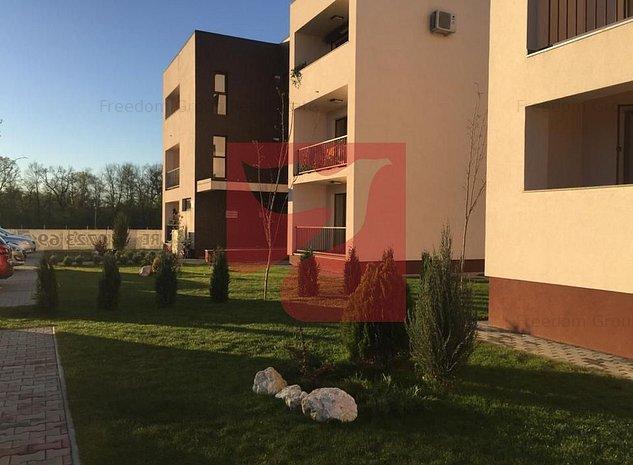Ap 2 cam+ loc parcare, cartier rezidential Paulesti vis-a-vis lac - imaginea 1