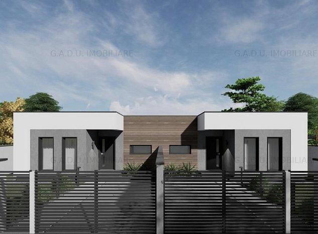 G.A.D.U Imobiliare va propune spre vanzare un duplex cu o arhitectura moderna - imaginea 1