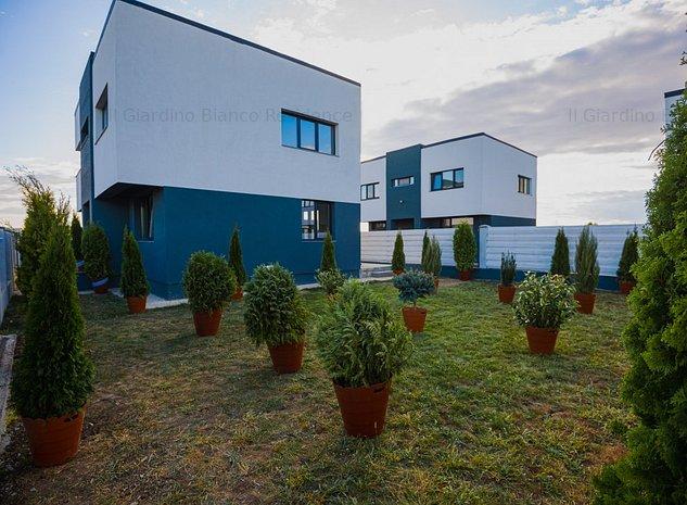 Ultimele 2 case din Il Giardino Bianco Tunari cu particularizare la alegere - imaginea 1
