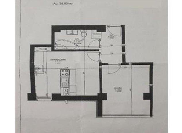 Apartament 1 camera, Tudor, 40mp - imaginea 1