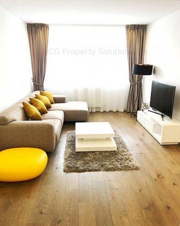 Apartament cu 2 camere, mobilat lux, aflat langa Parcul Herastrau - imaginea 1