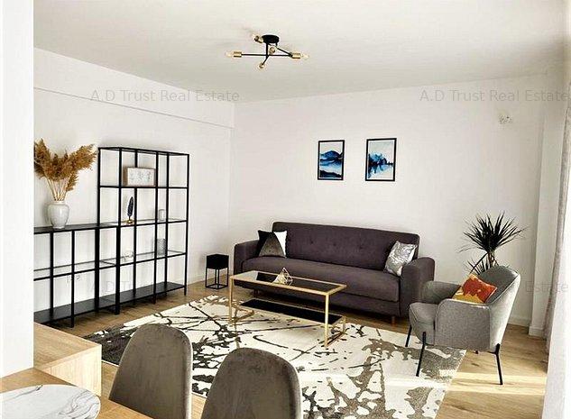Inchiriere Apartament NOU 2 camere zona Barbu Vacarescu | Pipera - imaginea 1