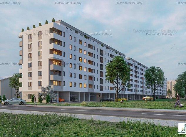 2 camere, decomandat | Metrou Nicolae Teclu | Program Noua Casa - imaginea 1