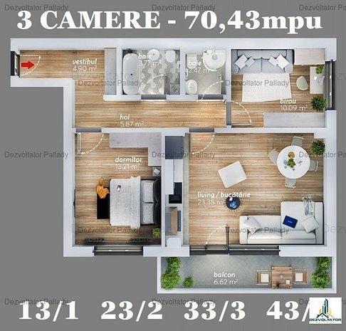 3 camere  Ozana  FINALIZAT/NOUA CASA   DEZVOLTATOR - imaginea 1