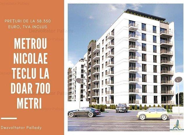 Garsoniera | Metrou Nicolae Teclu | Direct Dezvoltator  - imaginea 1