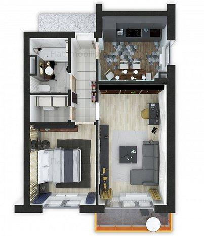 Apartament 2 Camere - Nou - Grandis Residence Brasov - imaginea 1