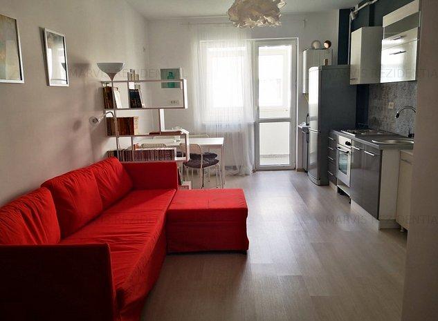 2 camere, Pallady, bloc nou, 12 min metrou N Teclu - imaginea 1