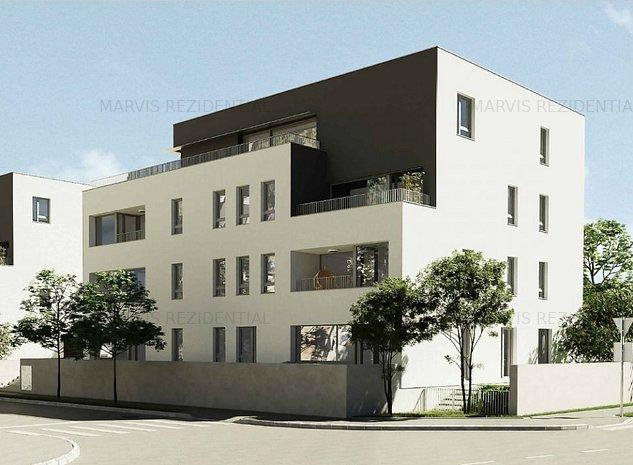 3 camere, bloc premium, P+3, zona de vile, Titan, Opel Pallady - imaginea 1