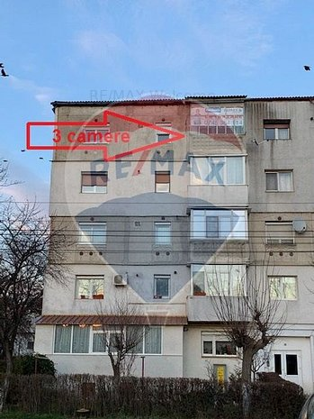 Apartament cu 3 camere str. Garofitei, Bacau - imaginea 1